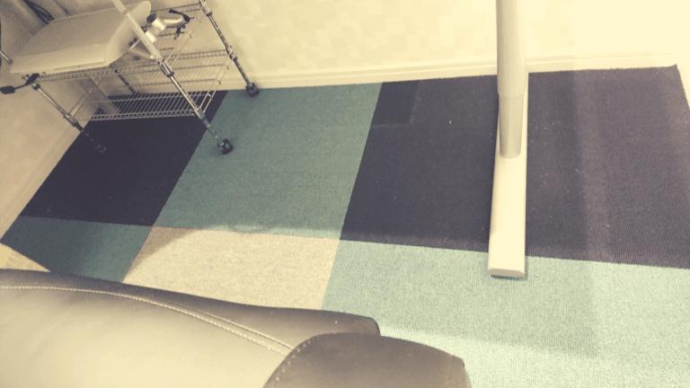 タイルカーペット施工完了